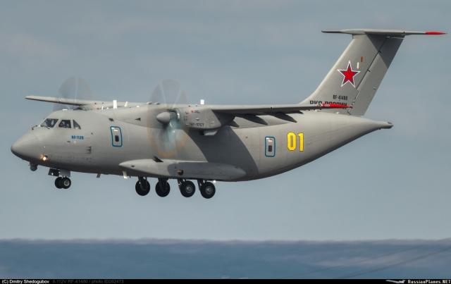 تحطم طائرة Il-112V الروسية الجديدة  RUS_Il112_640