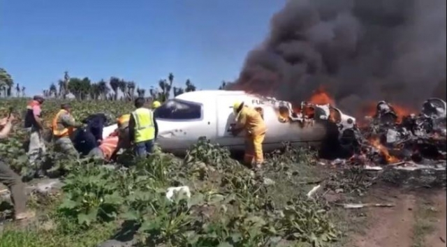 Mexico Learjet crash 640