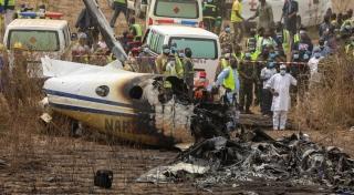 Nigeria Beech 350 crash 4 320