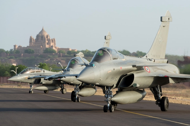India France Rafale exercise 640